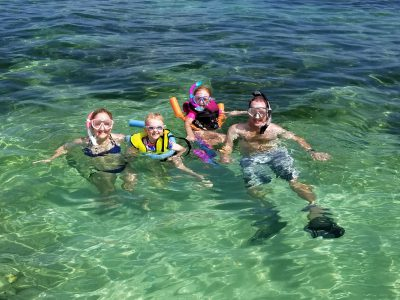 Family fun on a private charter in Key West